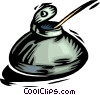 ink bottle Vector Clipart graphic