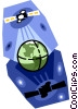 Vector Clip Art picture  of a Satellite communication