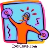 Vector Clipart image  of a entertainment