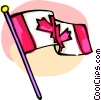 International flags, Canada Vector Clipart picture