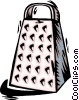 Vector Clipart picture  of a grater