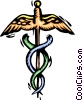 Vector Clip Art image  of a Medical symbol
