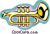 trumpet Vector Clipart illustration
