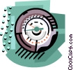 energy industry, thermostat Vector Clipart image