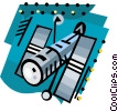 Satellite Vector Clipart picture