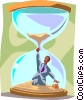 Vector Clip Art graphic  of a business deadlines