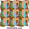 Vector Clipart picture  of a Cool wallpaper pattern