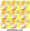 Vector Clipart image  of a Cool wallpaper pattern