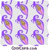 decorative wallpaper Vector Clip Art picture