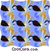 Cool wallpaper pattern Vector Clipart graphic