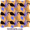Vector Clipart illustration  of a decorative wallpaper