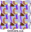 decorative wallpaper Vector Clip Art image