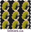 Vector Clipart graphic  of a Cool wallpaper pattern