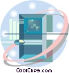 Computer circuit Vector Clipart picture