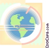 Globe design Vector Clip Art picture