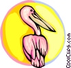 Pelican Vector Clip Art graphic