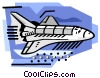 Shuttle Vector Clipart illustration