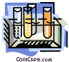 Vector Clipart graphic  of a Chemistry