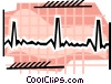 Vector Clipart image  of a Heart chart