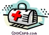 First aid kit Vector Clipart picture
