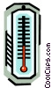 energy industry, thermometer Vector Clipart graphic