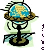 Vector Clip Art graphic  of a geotechnical style