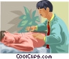 Acupuncture Vector Clipart picture