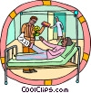 Vector Clipart image  of a healthcare