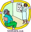Vector Clip Art picture  of a healthcare