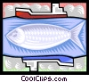 Vector Clipart image  of a fisheries