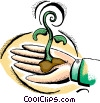 seedling, growth Vector Clip Art picture