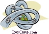 highway congestion Vector Clipart picture
