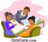 business meeting Vector Clip Art image