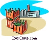 industry, manufacturing Vector Clipart illustration