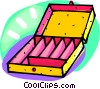 storage case Vector Clipart illustration