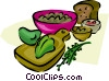 salad Vector Clip Art picture