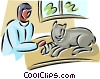 veterinary services Vector Clipart picture