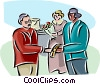 office party Vector Clipart illustration