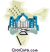 geotechnical style, India Vector Clip Art image