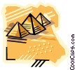 Vector Clipart illustration  of a geotechnical style