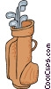 Golf bag Vector Clip Art picture