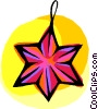 Christmas ornament Vector Clipart image