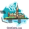 geotechnical style, Canada Vector Clip Art picture