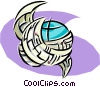 global communications Vector Clip Art image
