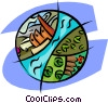environmental issues Vector Clip Art picture