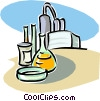 chemical industry Vector Clipart image