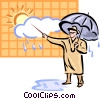 Weatherman Vector Clipart picture