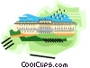 Vector Clipart picture  of a Sch�nbrunn Palace Vienna