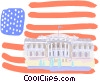 Vector Clip Art graphic  of a United States