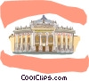 Vector Clip Art graphic  of a Vienna